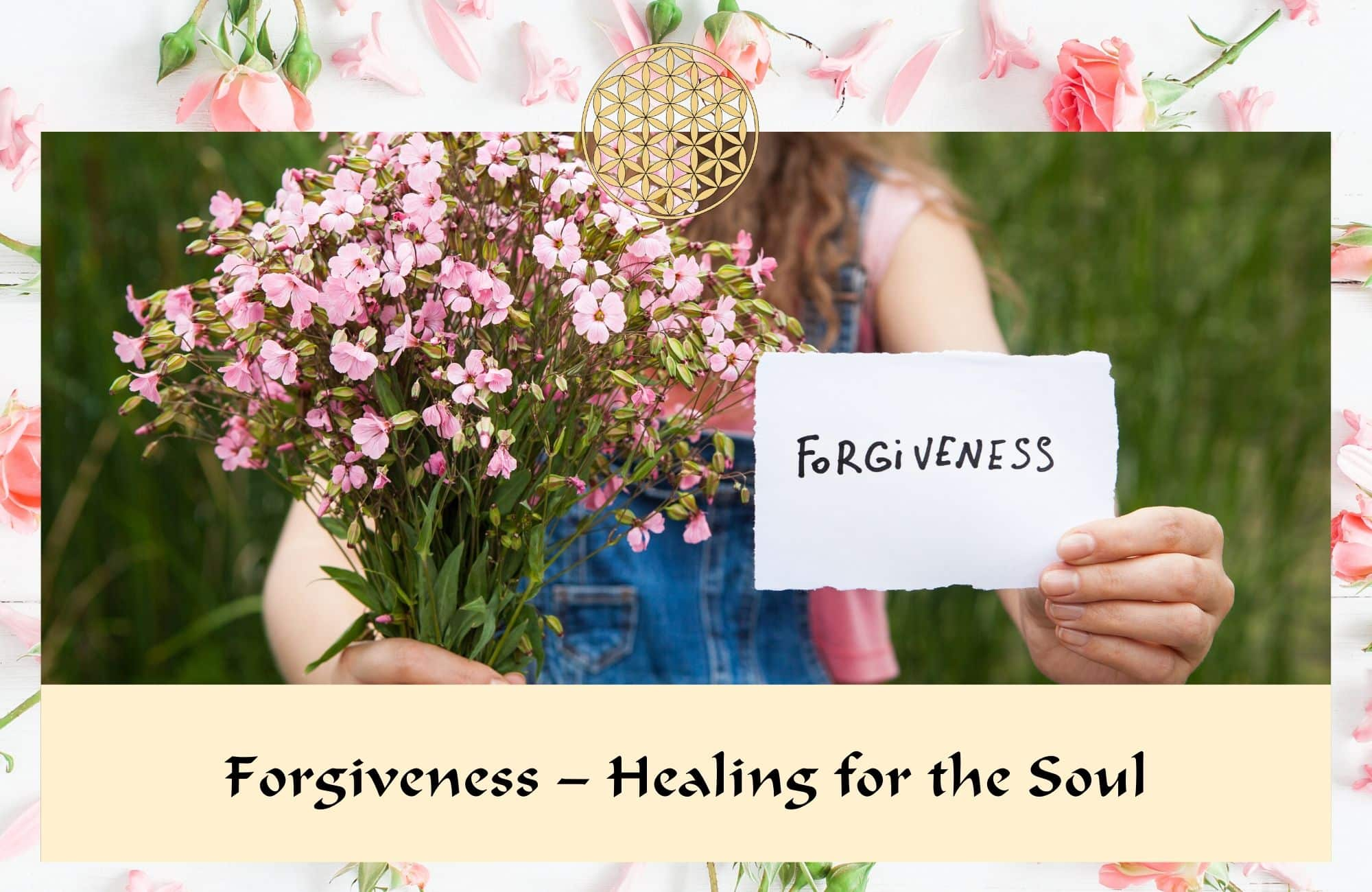 Forgiveness healing for the soul - Flower Essences & Remedies - Flowers for Healing